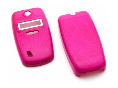 Kyocera K322 / K323 Snap On Faceplate Case (Hot Pink)