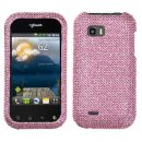 Pink Crystal Rhinestones Bling Case for LG T-Mobile myTouch Q