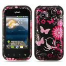 Pink Butterflies Hard Case for LG T-Mobile myTouch Q