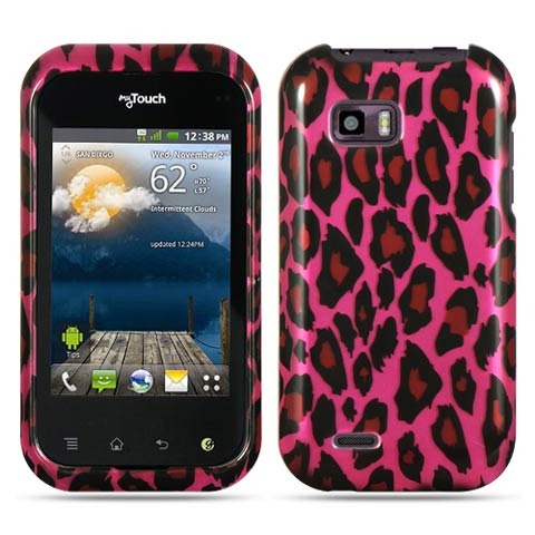 Pink Leopard Hard Case for LG T-Mobile myTouch Q