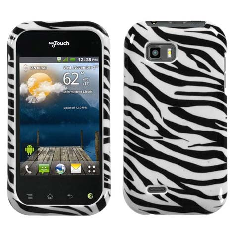 Zebra Hard Case for LG T-Mobile myTouch Q
