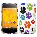 Paws Rubberized Hard Case for LG Nexus 4