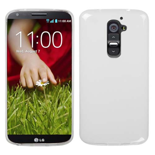 Clear Frost TPU Cover for LG G2