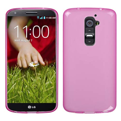 Pink Frost TPU Cover for LG G2