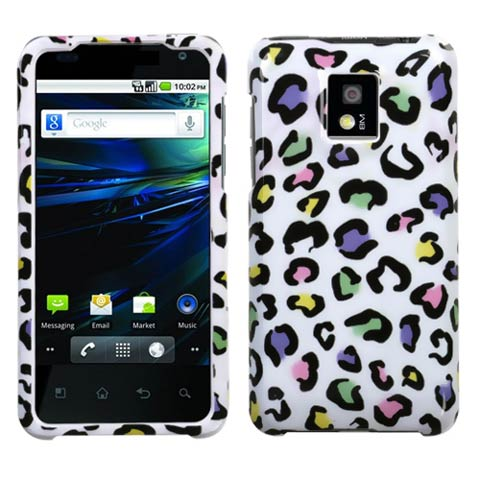 Happy Leopard Hard Case for LG G2x