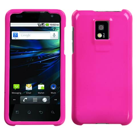 Pink Hard Case for LG G2x