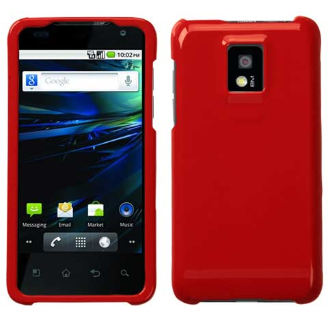 Red Hard Case for LG G2x