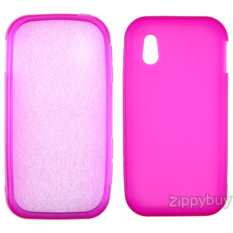 LG Arena Candy Shell Case - Frosty Hot Pink