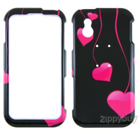LG Arena Hard Cover Case - Heart Strings