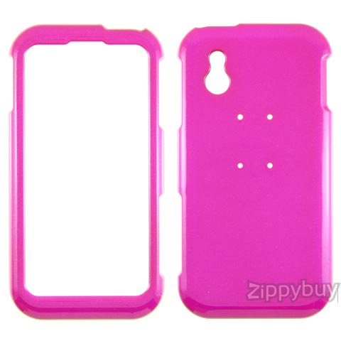 LG Arena Hard Cover Case - Hot Pink