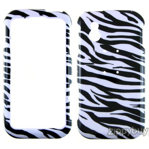 LG Arena Hard Cover Case - Zebra