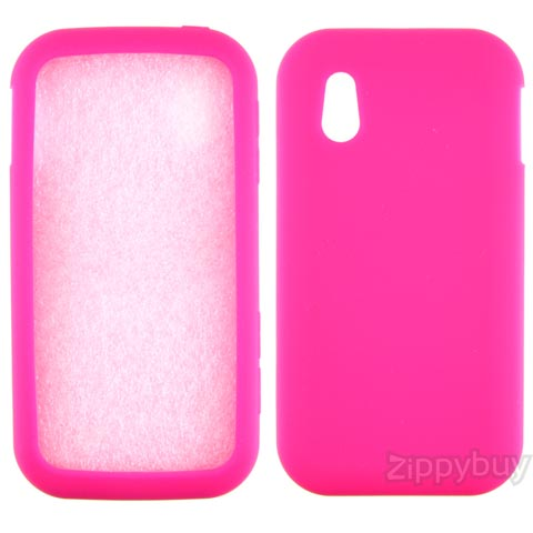 LG Arena Silicone Skin Cover - Hot Pink