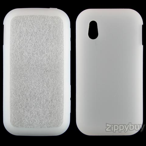 LG Arena Silicone Skin Cover - Frost White
