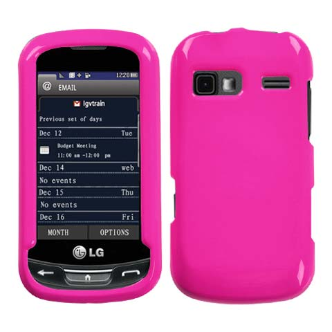 Pink Hard Case for LG Xpression