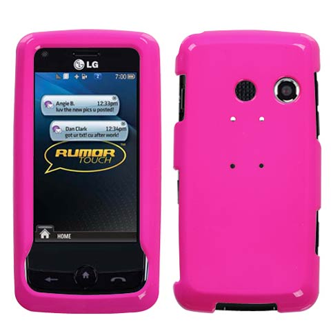 Pink Hard Case for LG Rumor Touch
