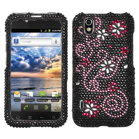 Delight Crystal Rhinestones Bling Case for LG Marquee