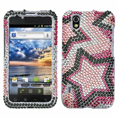 Superstar Crystal Rhinestones Bling Case for LG Marquee