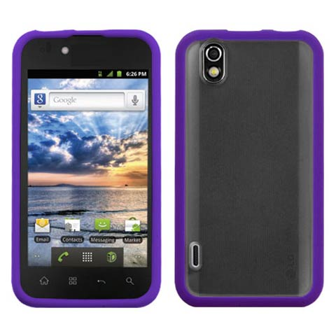 Purple Fusion Case for LG Marquee