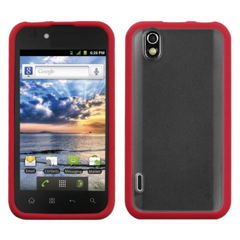 Red Fusion Case for LG Marquee