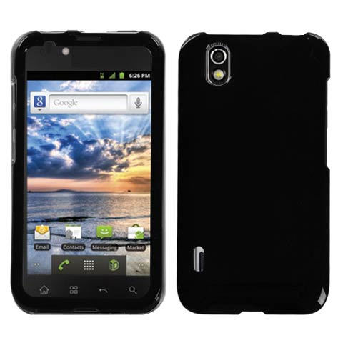 Black Hard Case for LG Marquee