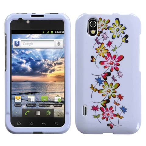 Falling Flowers Hard Case for LG Marquee