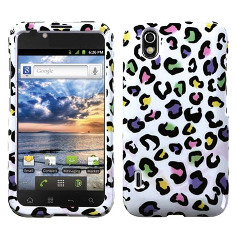 Happy Leopard Hard Case for LG Marquee