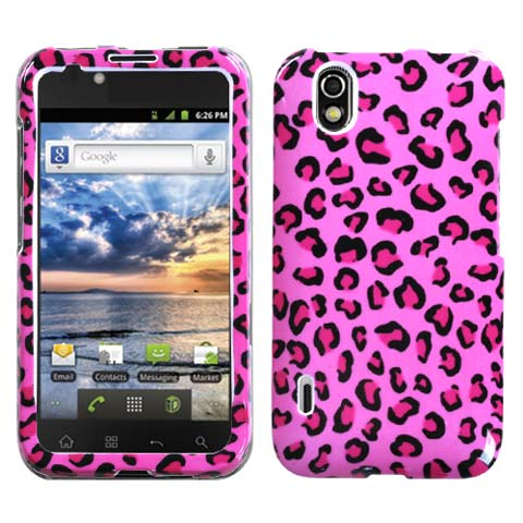 Pink Leopard Hard Case for LG Marquee
