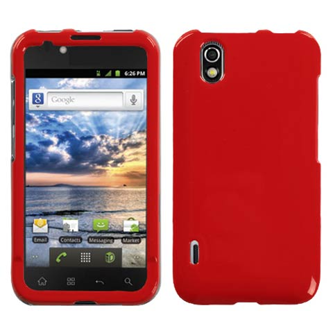 Red Hard Case for LG Marquee