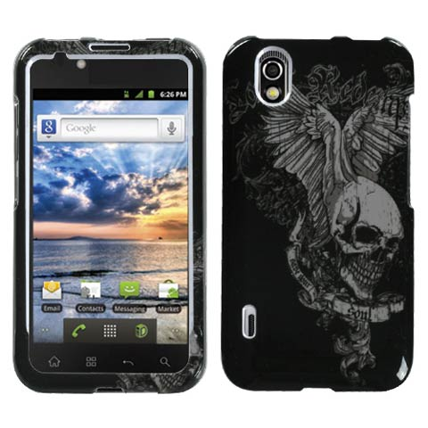 Skull Wings Hard Case for LG Marquee