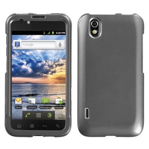 Steel Grey Hard Case for LG Marquee