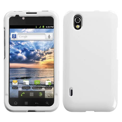 White Hard Case for LG Marquee