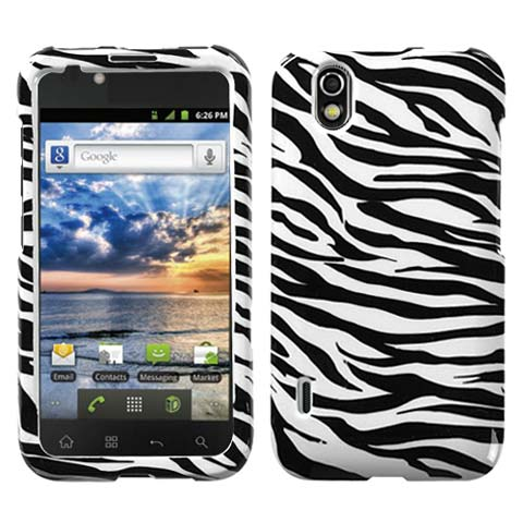 Zebra Hard Case for LG Marquee