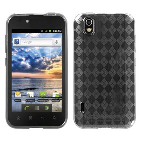 Frost Argyle TPU Case for LG Marquee
