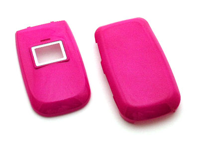 LG LX-150 Snap On Faceplate Case (Hot Pink)
