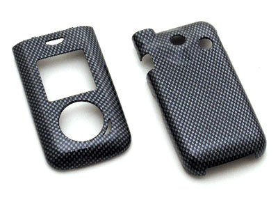 LG LX550 Fusic Snap On Faceplate Case (Carbon Fiber)
