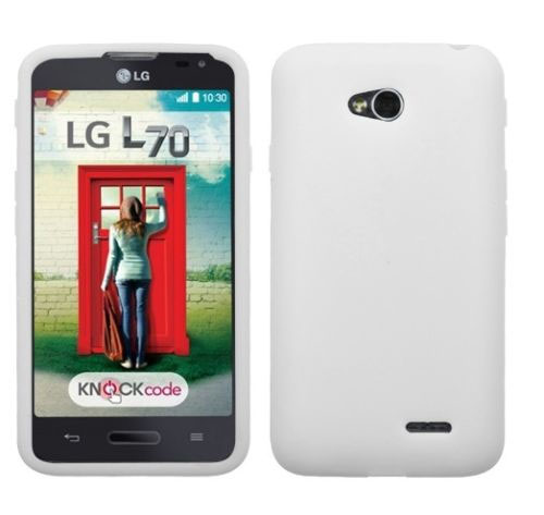 Frost White Silicone Cover for LG Optimus L70