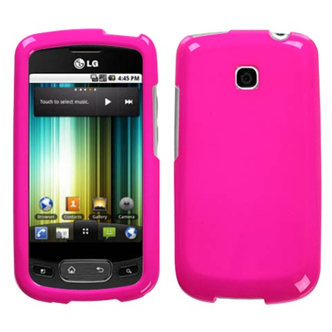 Pink Hard Case for LG Optimus T