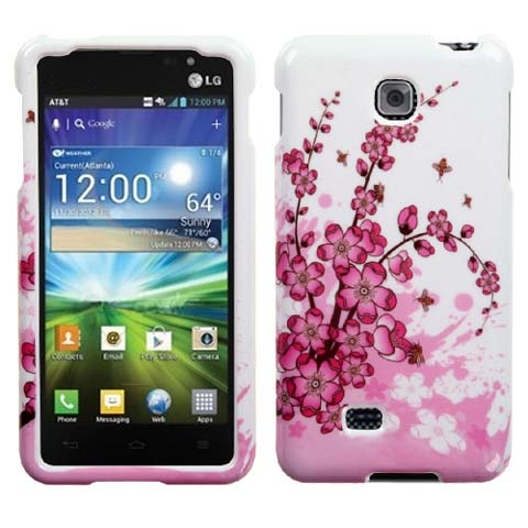 Pink Flowers Hard Case for LG Escape