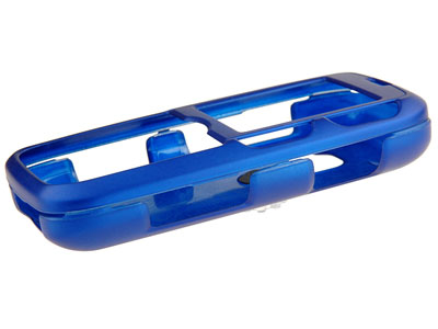 LG Rumor Rubberized Snap On Faceplate Case (Blue)