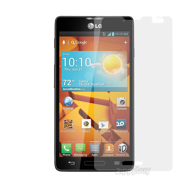 2x Multi-Pack Crystal Clear Screen Protectors for LG Optimus F7