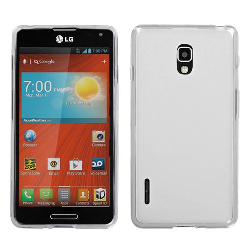 Clear Frost TPU Cover for LG Optimus F7