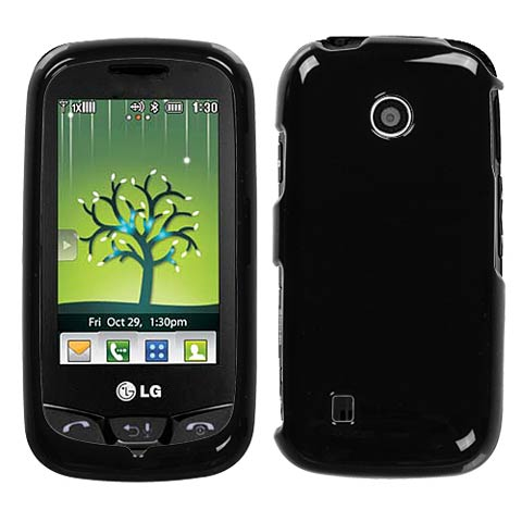 Black Hard Case for LG Cosmos Touch