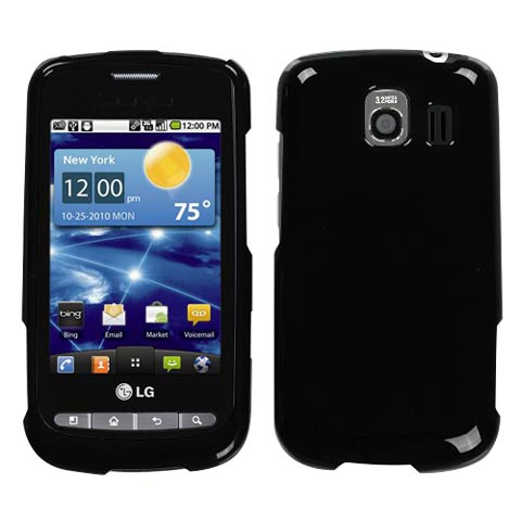 Piano Black Hard Case for LG Vortex