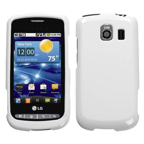 White Hard Case for LG Vortex