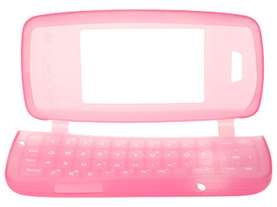 LG VX10000 Voyager Silicone Skin Case (Hot Pink)