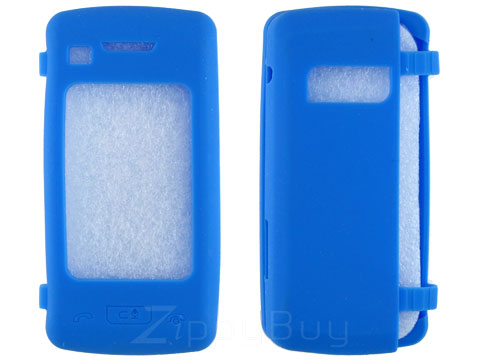 LG enV Touch VX11000 Silicone Skin Cover Case - Baby Blue