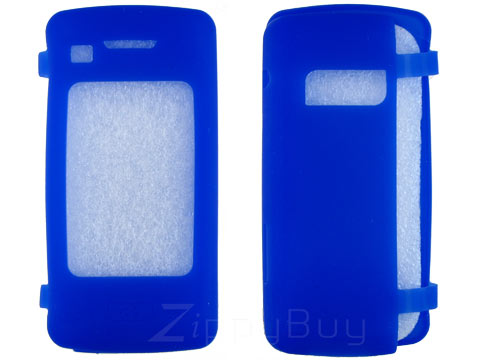 LG enV Touch VX11000 Silicone Skin Cover Case - Blue