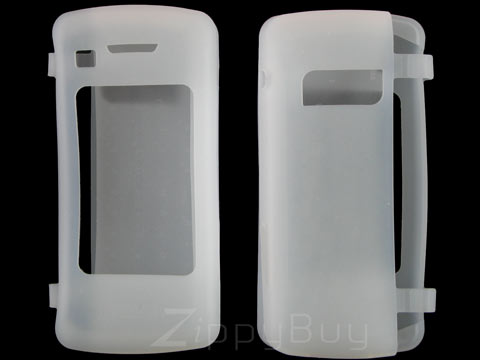 LG enV Touch VX11000 Silicone Skin Cover Case - Frost White