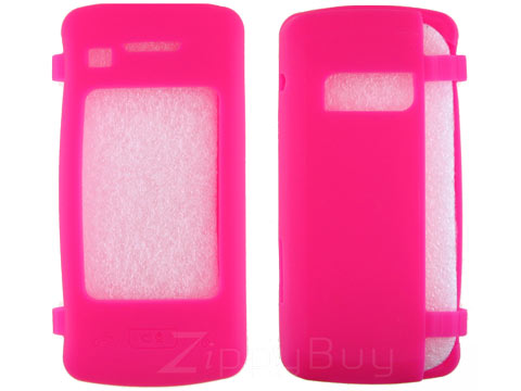 LG enV Touch VX11000 Silicone Skin Cover Case - Hot Pink