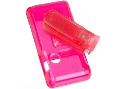 LG Chocolate VX8500   Snap On Faceplate Case (Hot Pink)